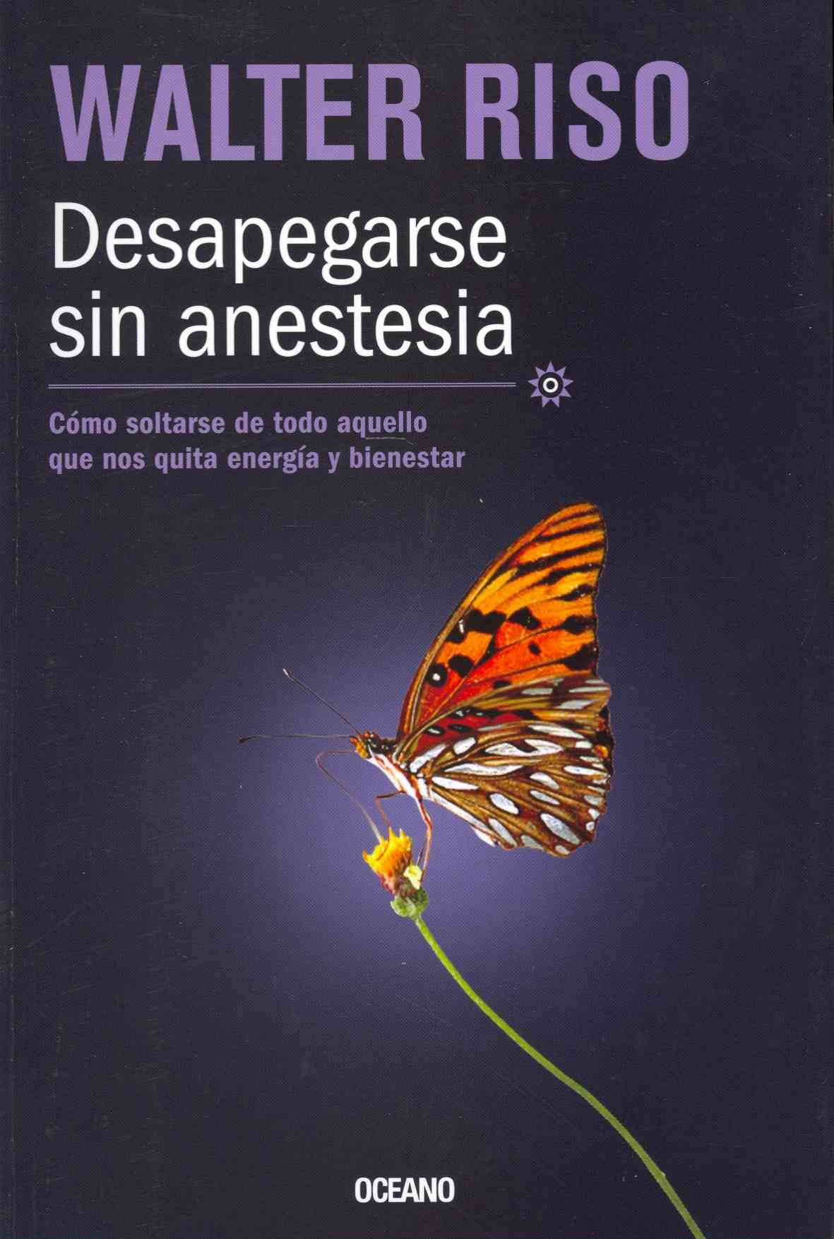 Desapegarse sin anestesian / Detachment without anesthesia By Riso, Walter